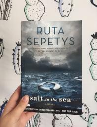ARC salt to sea